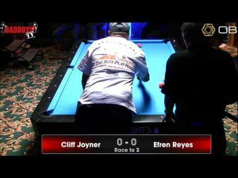 Cliff Joyner vs.  Efren Reyes