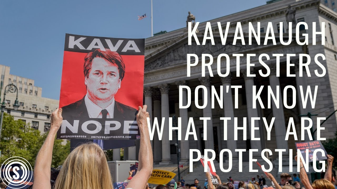 Image result for kavanaugh protester