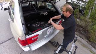 how to remove spare tire in bmw x5 e53