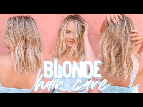 Fashion Finds - Blonde Hair Care