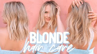 Blonde Hair Care - KayleyMelissa