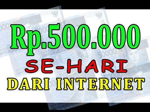cara mendapatkan uang melalui internet
