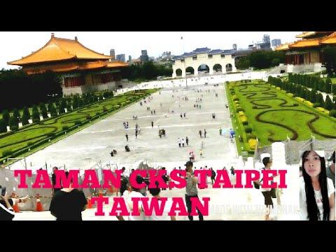 TKW VLOG# berhari minggu di taman CKS taipei Taiwan.. - YouTube