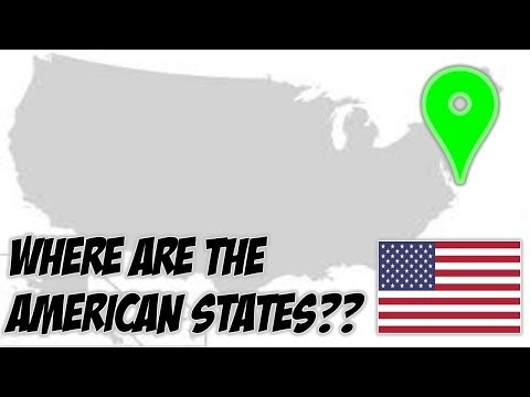 Can You Place Every Single US State On A Blank Map??
