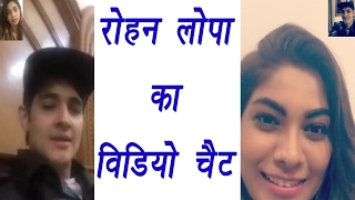 Bigg Boss 10:Rohan Mehra & Lopamudra Raut share video chat picture   FilmiBeat