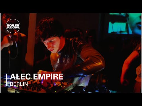 Alec Empire Boiler Room Berlin LIVE Show