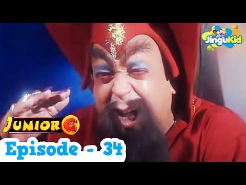 Junior G  Episode 34  HD Superhero TV Series  Superheroes & Super Powers  for Kids