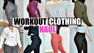 Workout Clothes Haul & Try On | Buffbunny, Fabletics, VS Sport, Zella, Nike & Marika