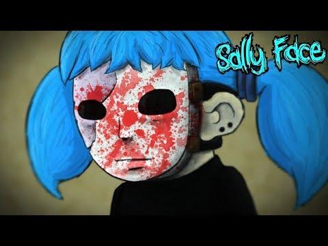 САЛЛИ-КРОМСАЛИ везде ВИДИТ УЖАСЫ в Sally Face
