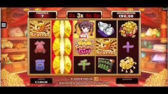 Microgaming Fortune Girl 15€ Freispiele