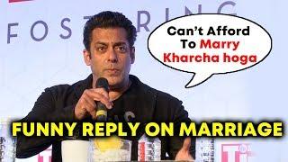 Salman Khan REVEALS Reason Behind NOT MARRYING