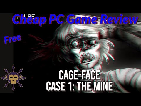 Cheap PC Game Review - Cage-Face Case 1: The Mine - Full Playthrough thumbnail