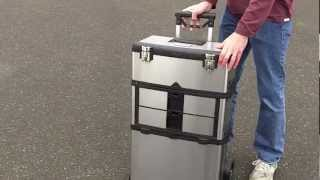Trinity 3-in-1 Stainless Steel Suitcase Toolbox Review.  Dads, Finally A Cool Toolbox