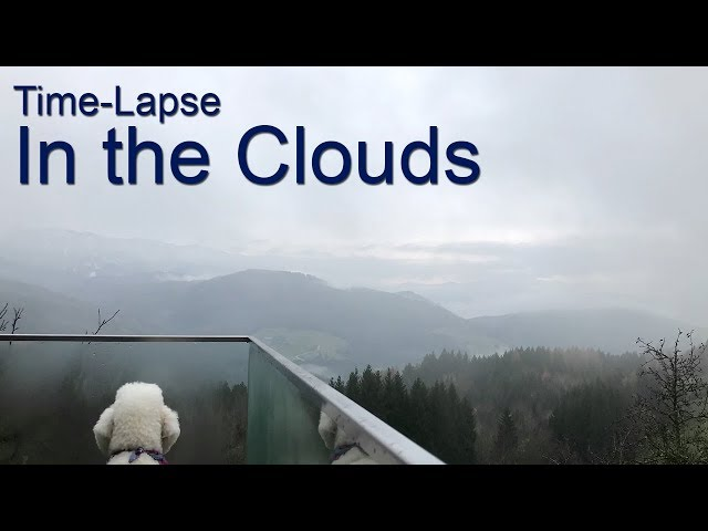 In the Clouds (Time-Lapse) Weyregg am Attersee, Austria