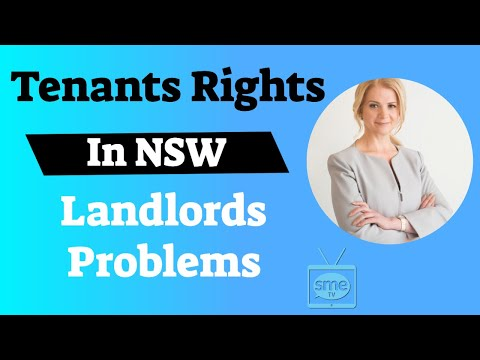 What Are Your #tenantsrights For #SMEs In NSW To Avoid An #evictionnotice & #landlordproblems