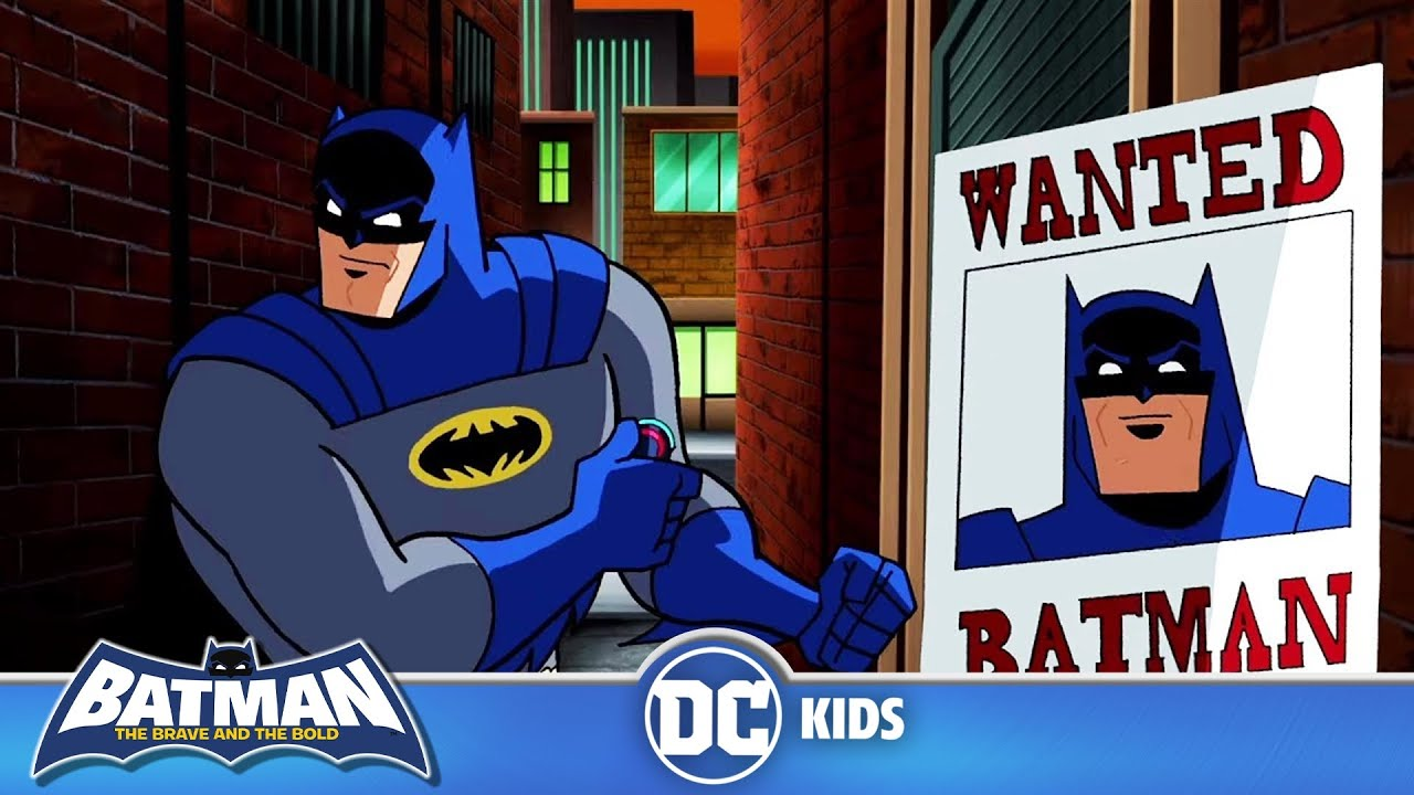 Batman The Brave And The Bold   Everyone Is Looking For Batman   DC Kids