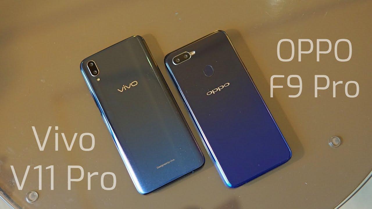 Vivo V11 Pro Vs Oppo F9 Pro Comparison Specs Camera Design