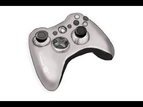 Xbox 360 Controller Drawing How to draw an ...