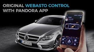 Mercedes CLS preaheater control with Pandora app
