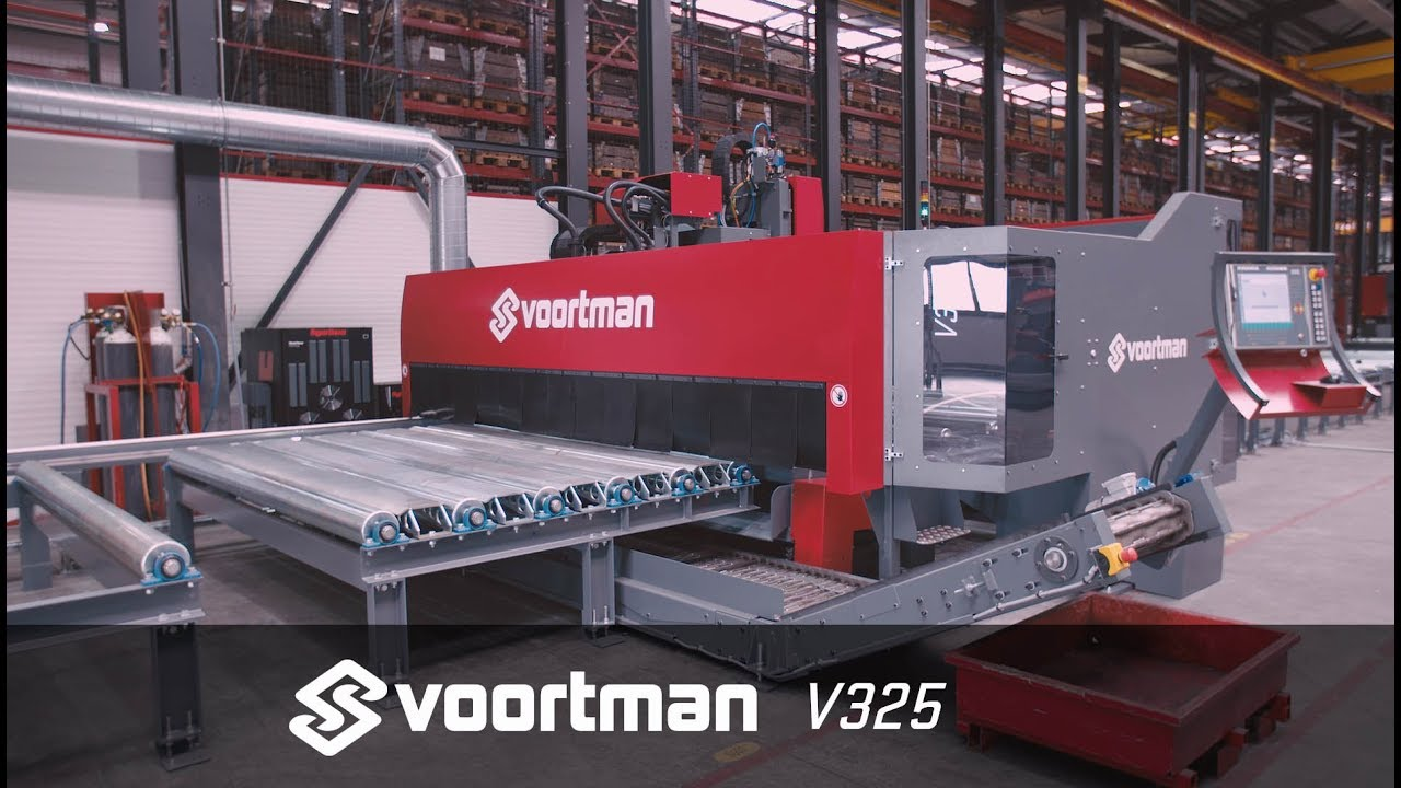 CNC Heavy Plate Drilling, Cutting And Milling | Voortman ...