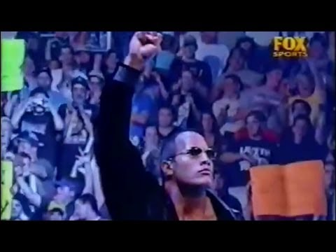 The Rock Returns 2001 With His NATION THEME (HD)