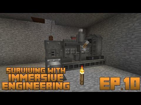 Surviving With Immersive Engineering :: Ep.10 - The Diesel Generator