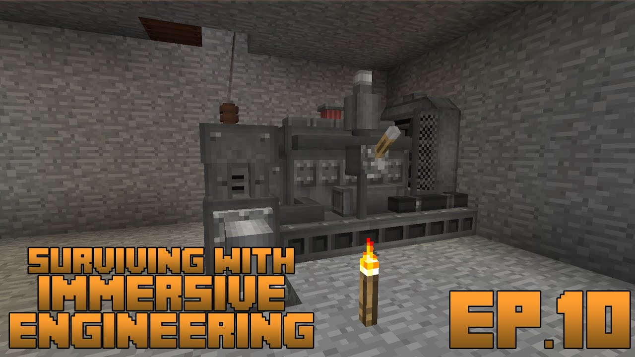Surviving With Immersive Engineering Ep 10 The Diesel