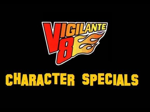 Vigilante 8 - Character Specials