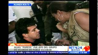 Conozca el perfil del exjefe de sicarios del temido narcotraficante colombiano Pablo Escobar
