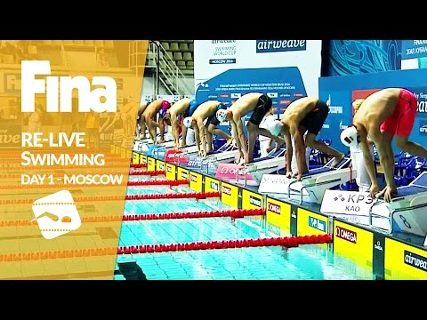 Re-Live | Day 1 - FINA/airweave Swimming World Cup 2016 #3 Moscow