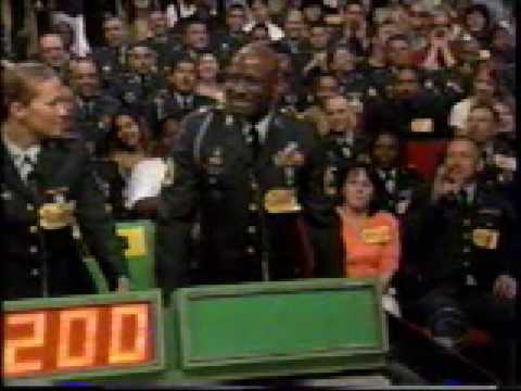 The Price is Right Salutes the U. S. Army, pt. 1