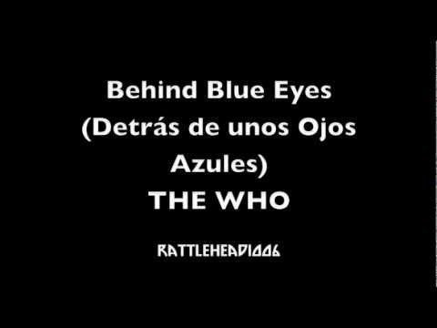 The Who - Behind Blue Eyes (Sub Español)