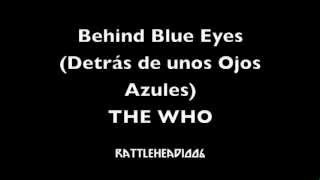 The Who - Behind Blue Eyes (Sub Español)
