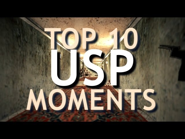 DomenikTV - TOP 10 USP MOMENTS [CS 1.6]