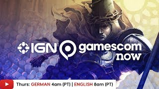 Gamescom 2019: Blasphemous, Planet Zoo & More! - IGN Live | Day 3 (ENGLISH)
