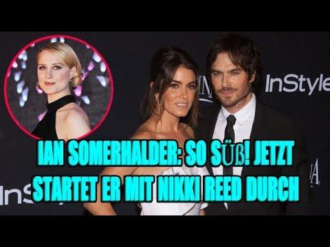 Ian Somerhalder: So süß! JETZT startet er mit Nikki Reed durch