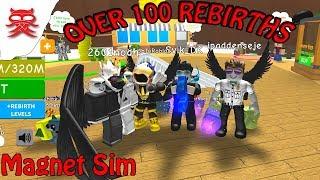 100 rebirths - Magnet Sim - Dansk Roblox