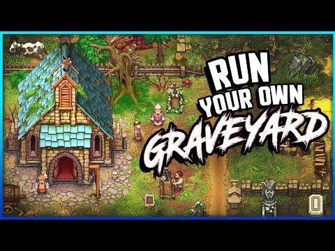 Stardew Valley Meets Medieval Graveyard Sim! - Graveyard Keeper Gameplay
