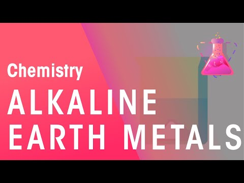 Group 2 - Alkaline Earth metals | Chemistry for All | The Fuse School