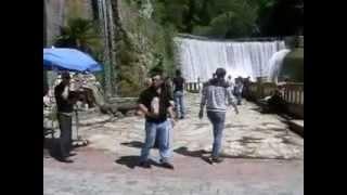 видео Водопад в новом Афоне