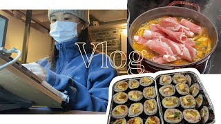 •VLOG | eerim의 Cooking - 엄마 김밥…