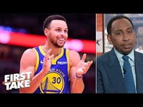 Steph Curry is Stephen A 's early NBA MVP  First Take