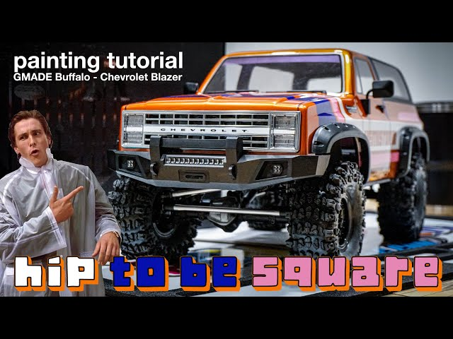HIP TO BE SQUARE! - RC Chevrolet Blazer Paint - GMADE GS02F
