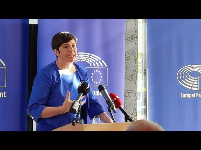 2021.10.15. Európai Polgári Díj átadó - Iványi Gábor - Oltalom