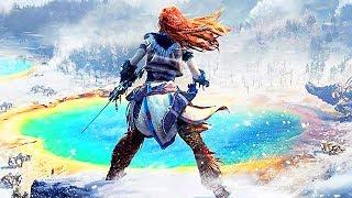 HORIZON ZERO DAWN The Frozen Wilds New Trailer (PS4)