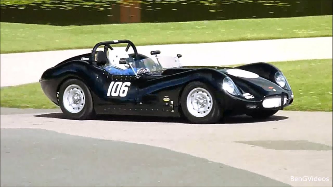 Lister Jaguar Replica by Drivin' Ivan Katz - YouTube