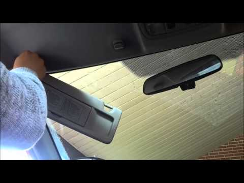 How To Install A Sun Visor In A Honda Civic-8th Gen (2006-2011)