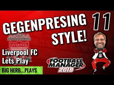 FM18 Liverpool Lets Play Gegenpressing Style! - 11 - CL vs Nice & Arsenal - Football Manager 2018