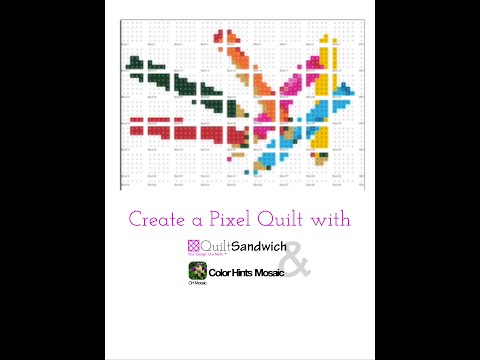 Create your own unique Pixel Quilt from a favorite image