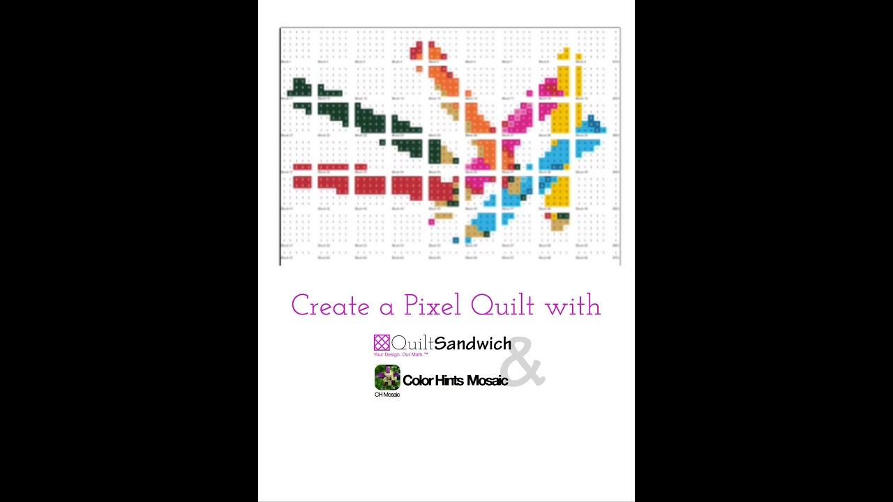 PIXEL QUILTS - Modern tools meet classic quilting